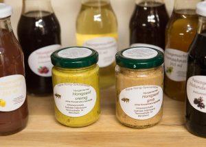 Honig, Kerzen, Shampoo von der Imkerei Hillenbrand aus Bensheim