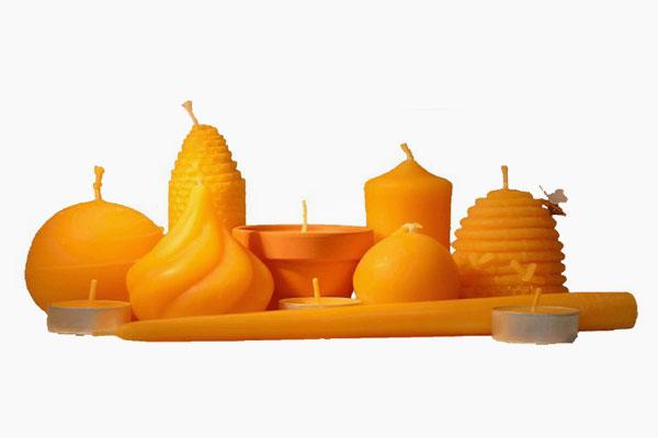 Imkerei Bensheim - Kerzen aus natürlichem Bienenwachs